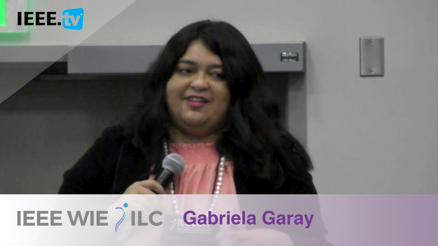 Gabriela Garay: Affinity Group of the Year Honorable Mention - IEEE WIE ILC Awards 2017