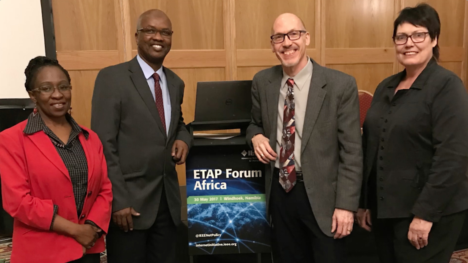 Recap of the Namibia, Africa, IEEE Experts in Technology and Policy (ETAP) Forum