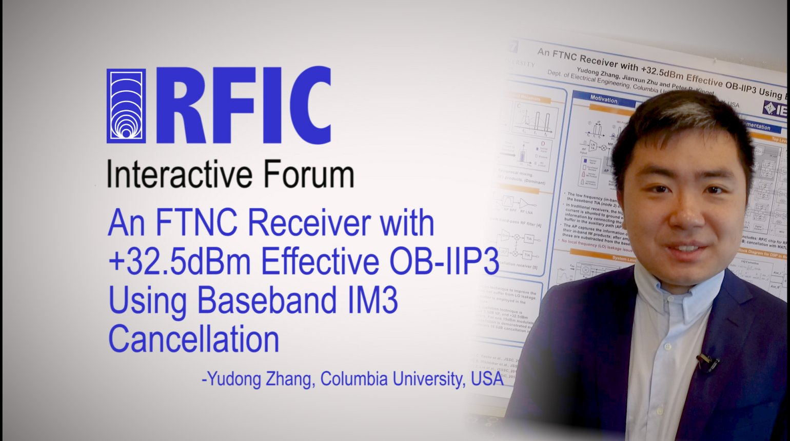 An FTNC Receiver with +32.5dBm Effective OB-IIP3 Using Baseband IM3 Cancellation: RFIC Interactive Forum 2017