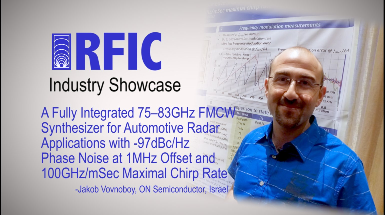 A Fully Integrated 75-83GHz FMCW Synthesizer for Automotive Radar Applications with -97dBc/Hz Phase Noise at 1MHz Offset and 100GHz/mSec Maximal Chirp Rate: RFIC Industry Showcase 2017