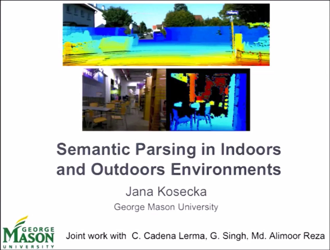 Semantic Parsing in Indoors and Outdoors Environments