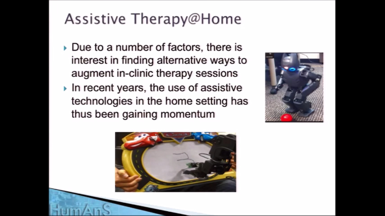 Robots and Gaming - Therapy for Children with Disabilities