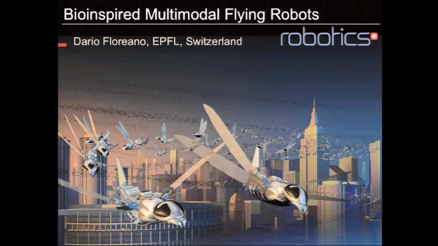 Bioinspired Multimodal Flying Robots