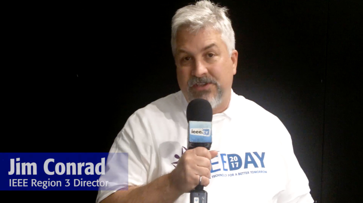 IEEE Day 2017 Testimonial: Jim Conrad
