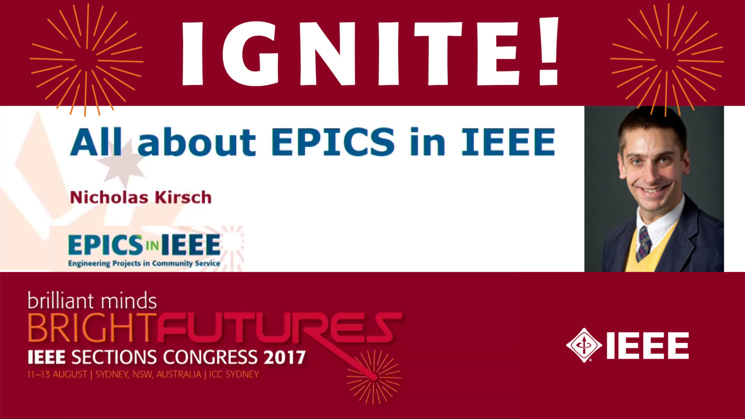 All about EPICS in IEEE - Nicholas Kirsch - Ignite: Sections Congress 2017