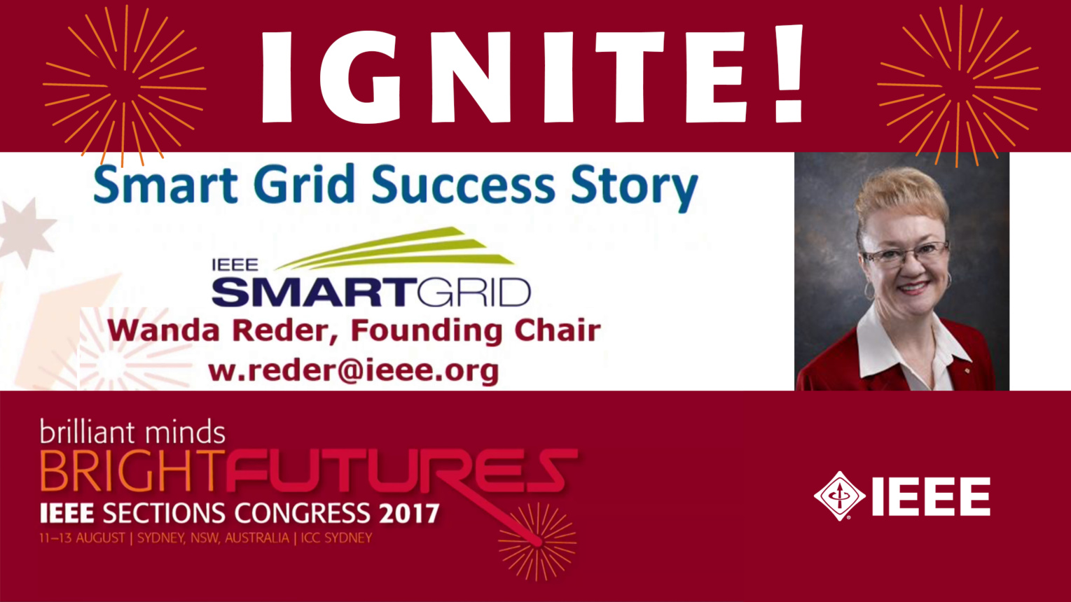 Smart Grid Success Story - Wanda Reder - Ignite: Sections Congress 2017