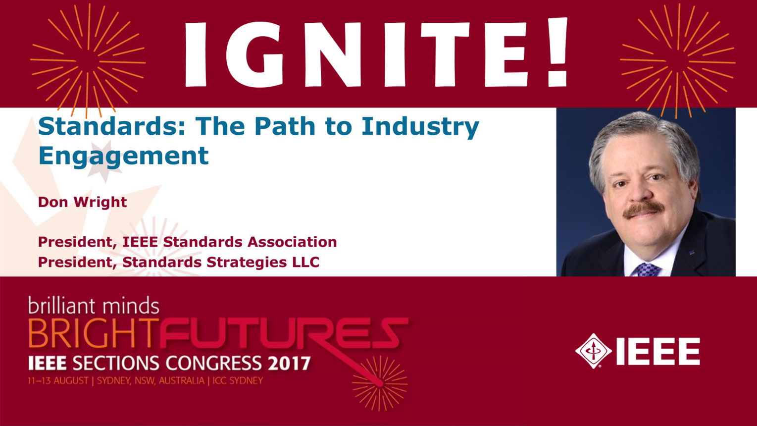 Standards: The Path to Industry Engagement - Don Wright - Ignite: Sections Congress 2017