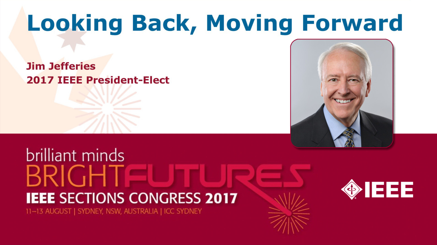 Jim Jefferies - Closing Ceremony: Sections Congress 2017