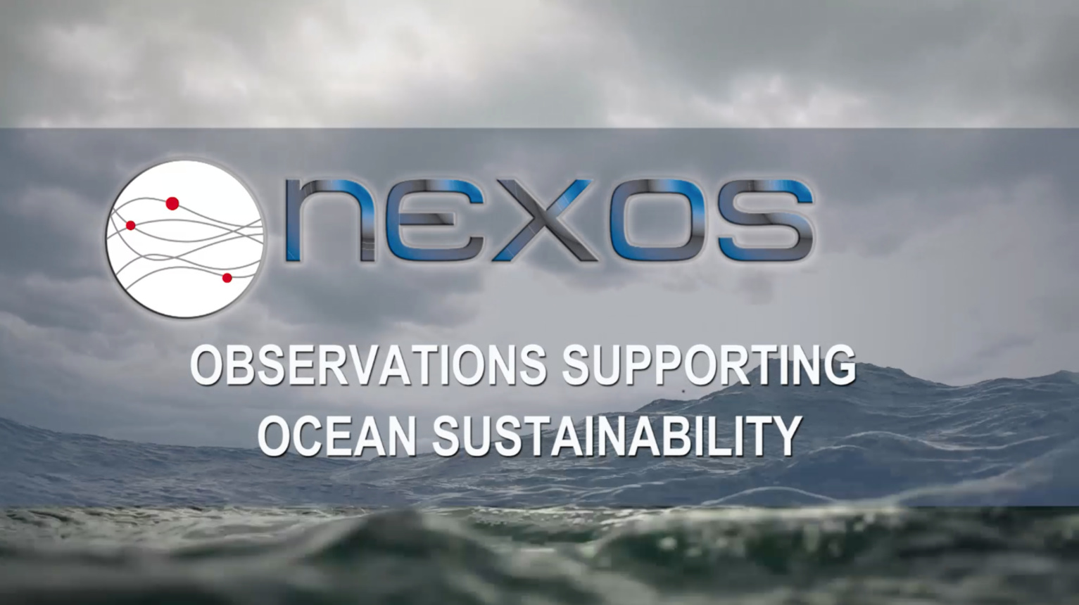 NeXOS: Observations Supporting Ocean Sustainability