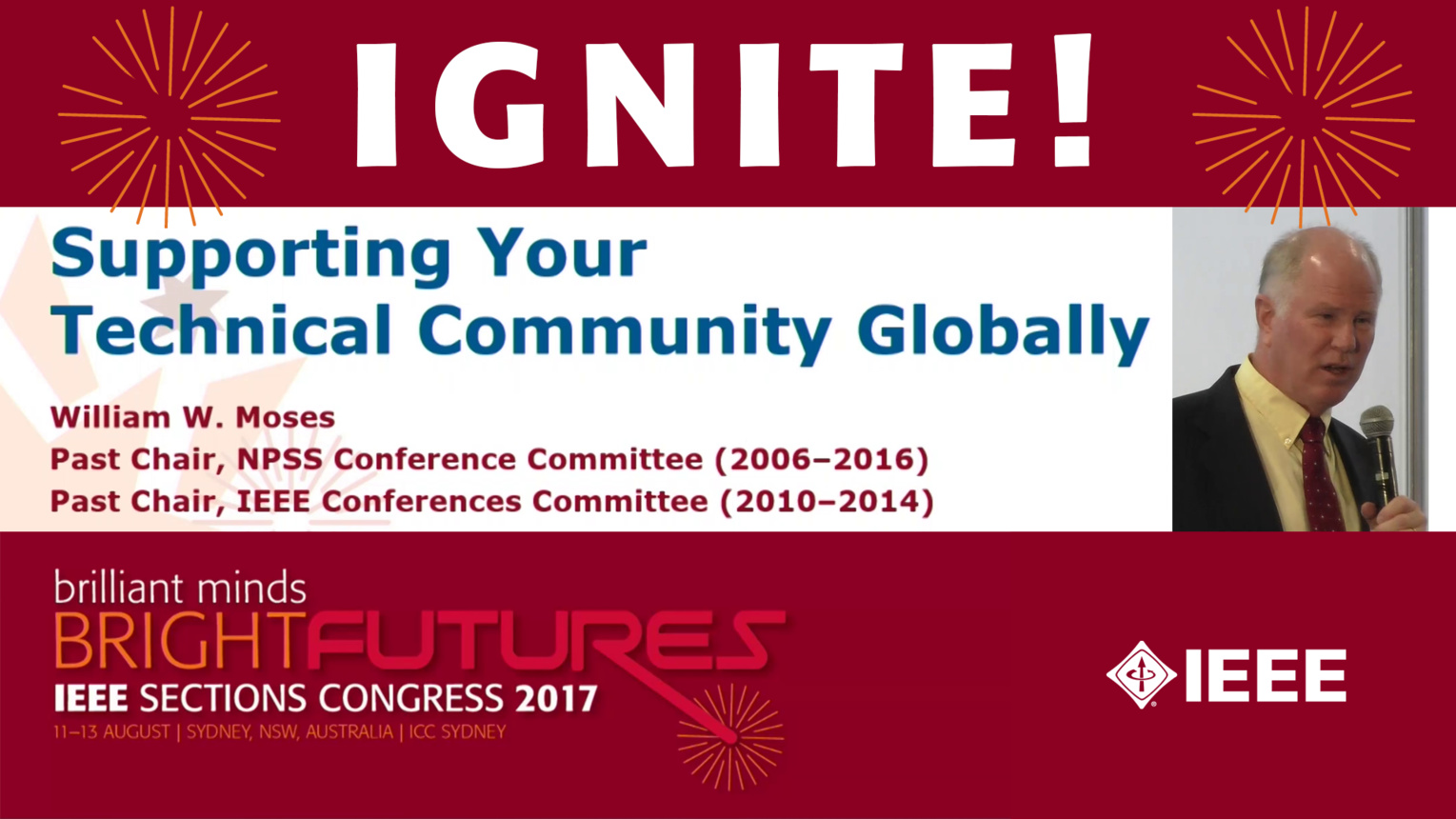 Supporting Your Technical Community Globally - Bill Moses - Ignite: Sections Congress 2017