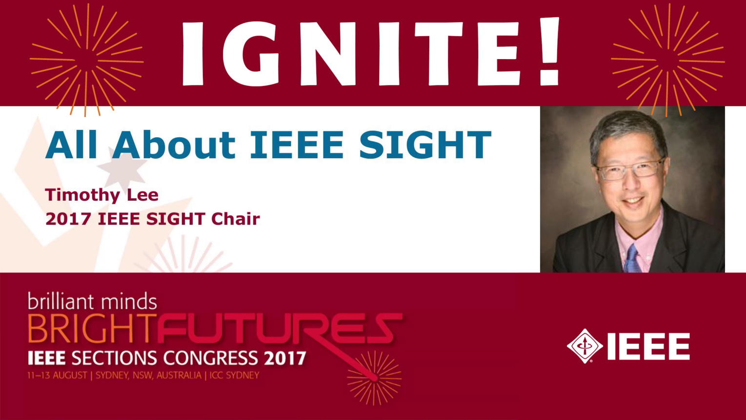 All About IEEE Sight - Timothy Lee - Sections Congress 2017