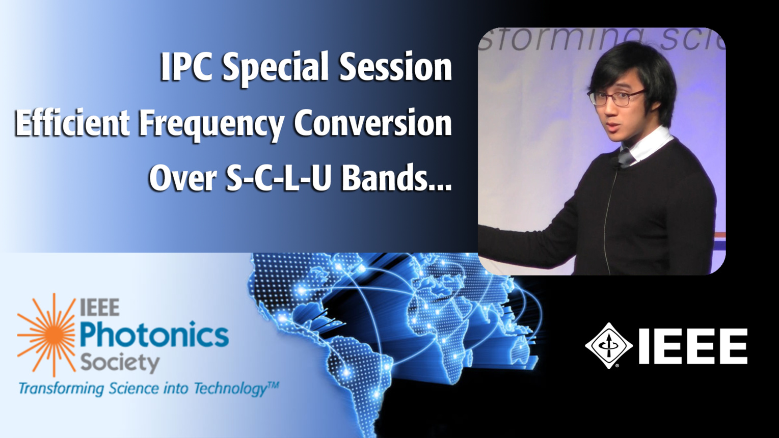 An IEEE IPC Special Session with Meng Lon Iu of the University of Toronto