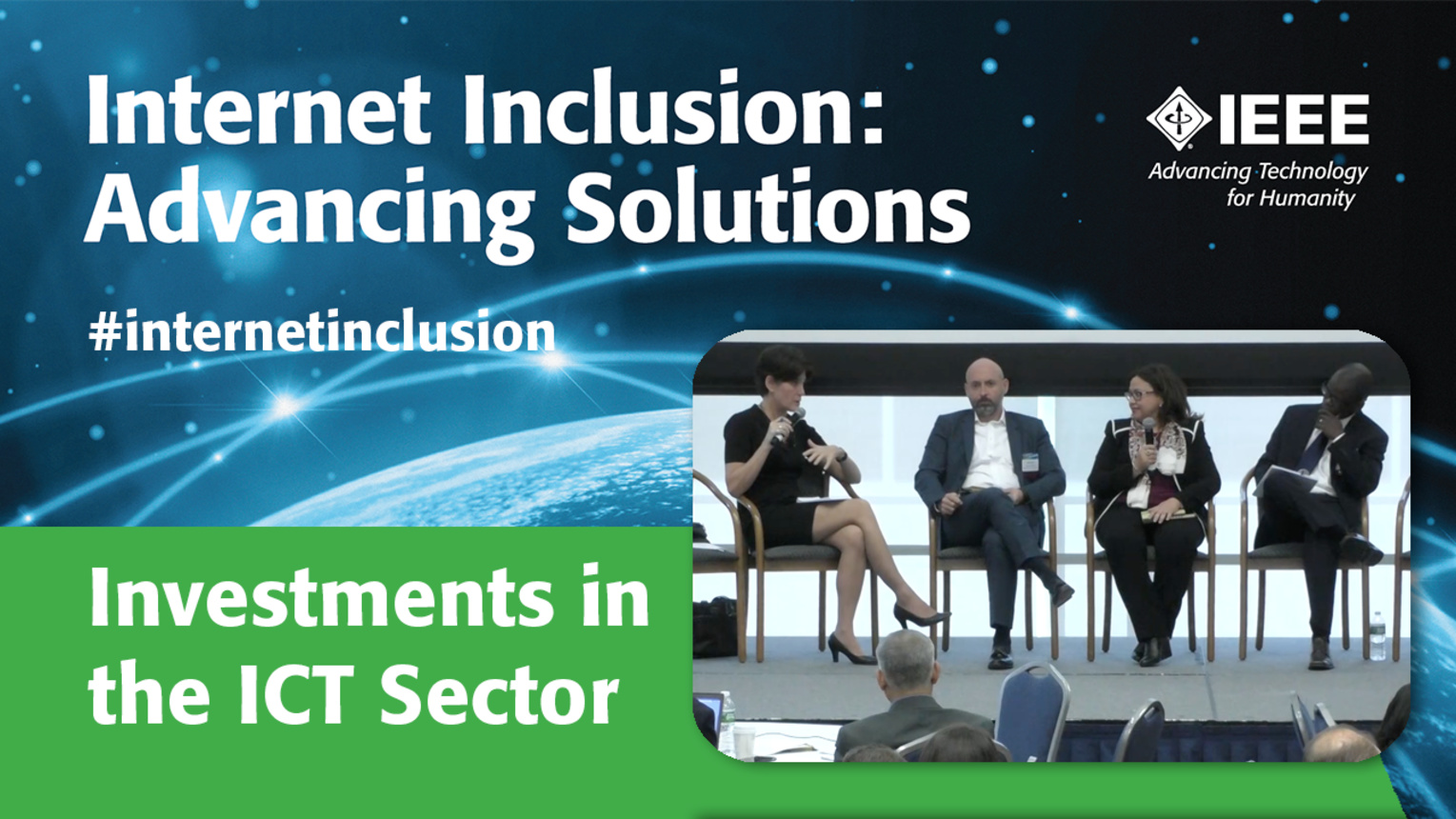IEEE Internet Inclusion: Are Investments in the ICT Sector a Priority for Multilateral Development Banks?