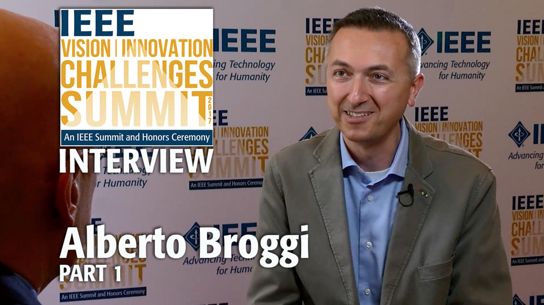Interview with Alberto Broggi, Part 1 - IEEE VIC Summit 2017