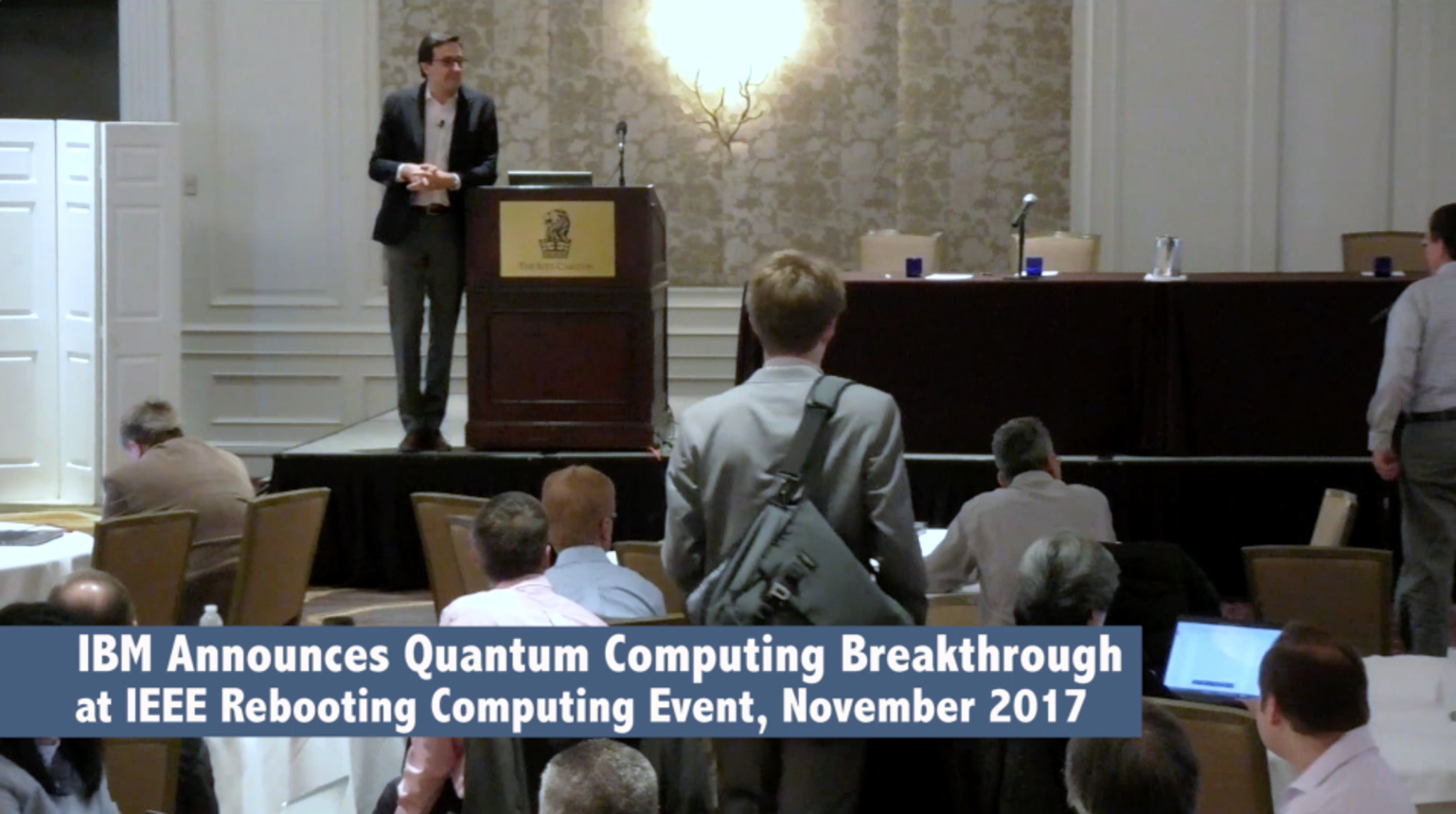 IBM Announces Quantum Computing Breakthrough at IEEE Rebooting Computing Event