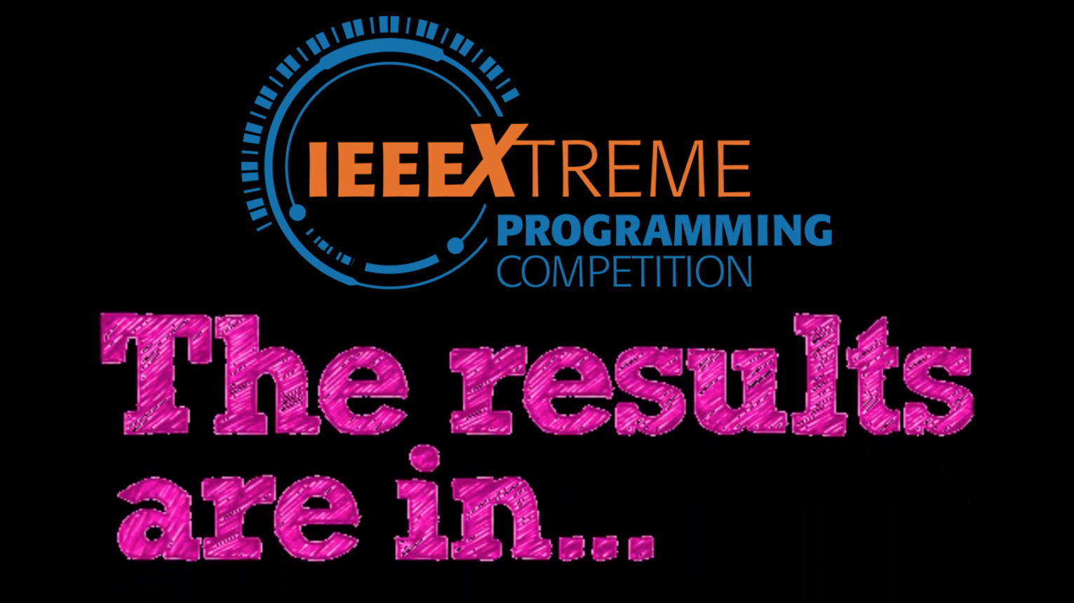 IEEE Xtreme 11.0 Results Announcement