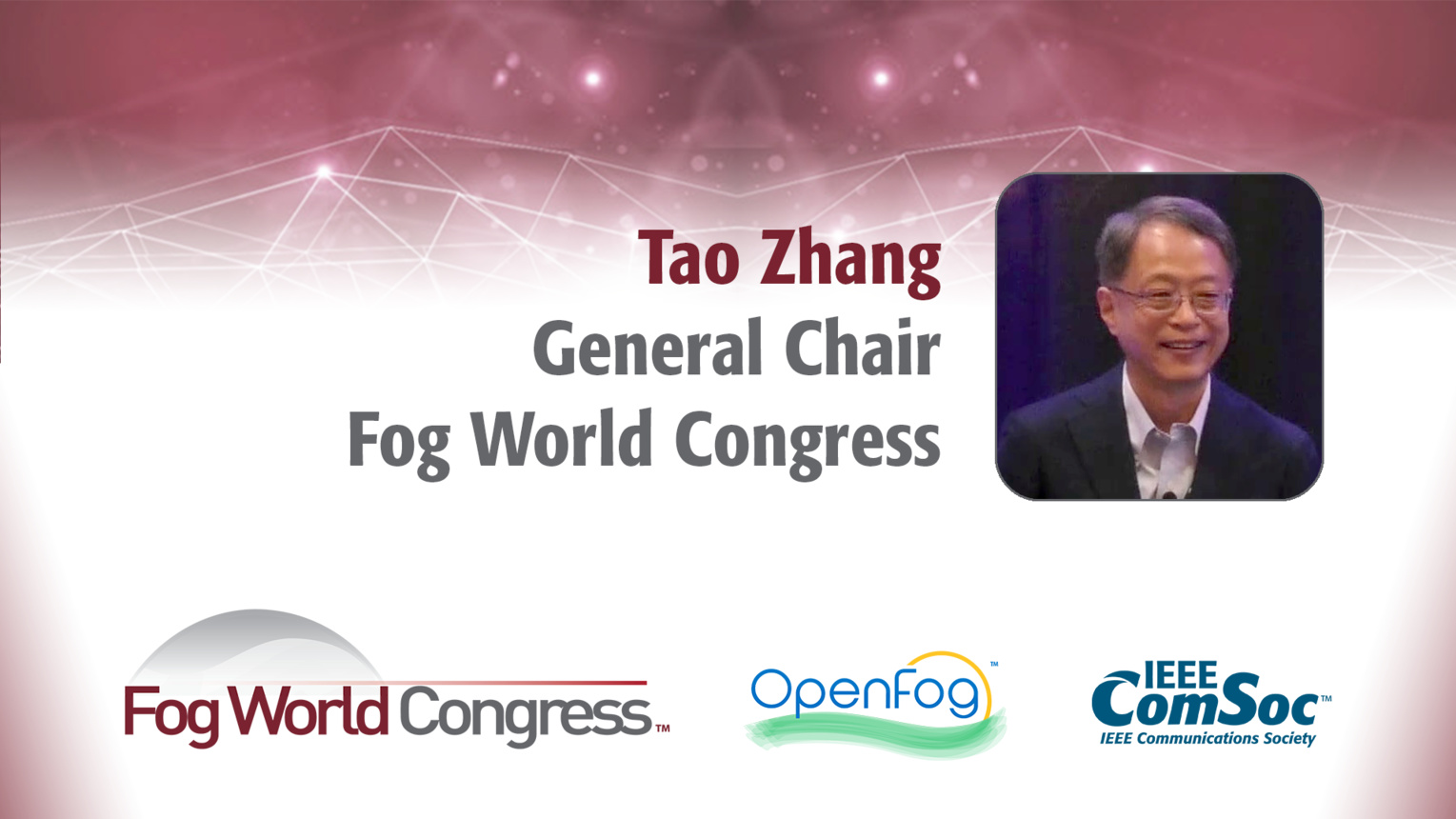 Fogonomics: The Coming Era of Fog Computing - Tao Zhang Keynote from Fog World Congress 2017