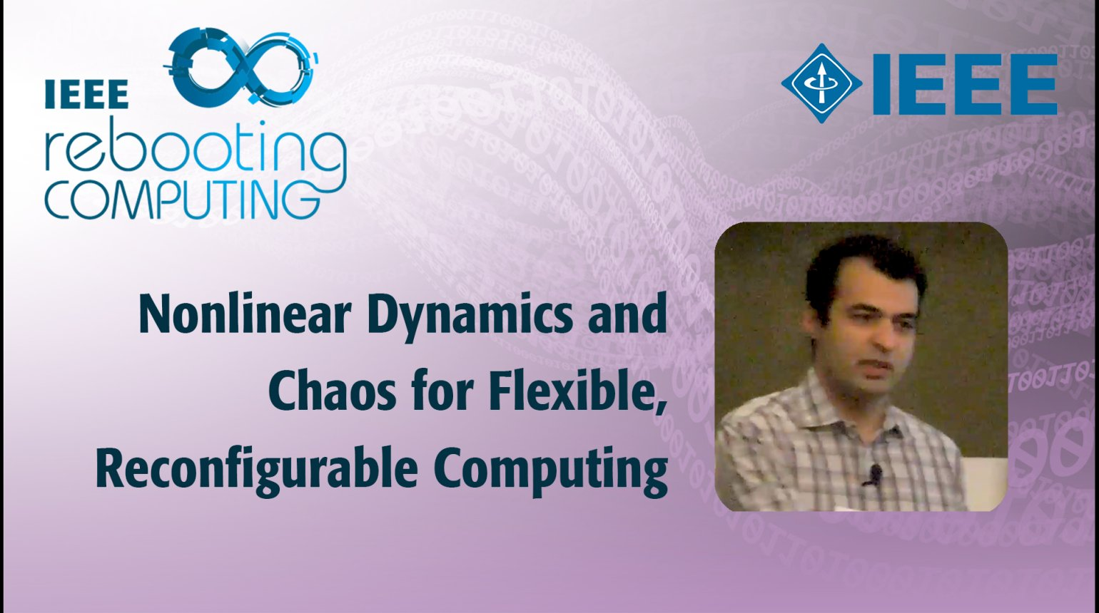 Nonlinear Dynamics and Chaos for Flexible, Reconfigurable Computing - IEEE Rebooting Computing 2017