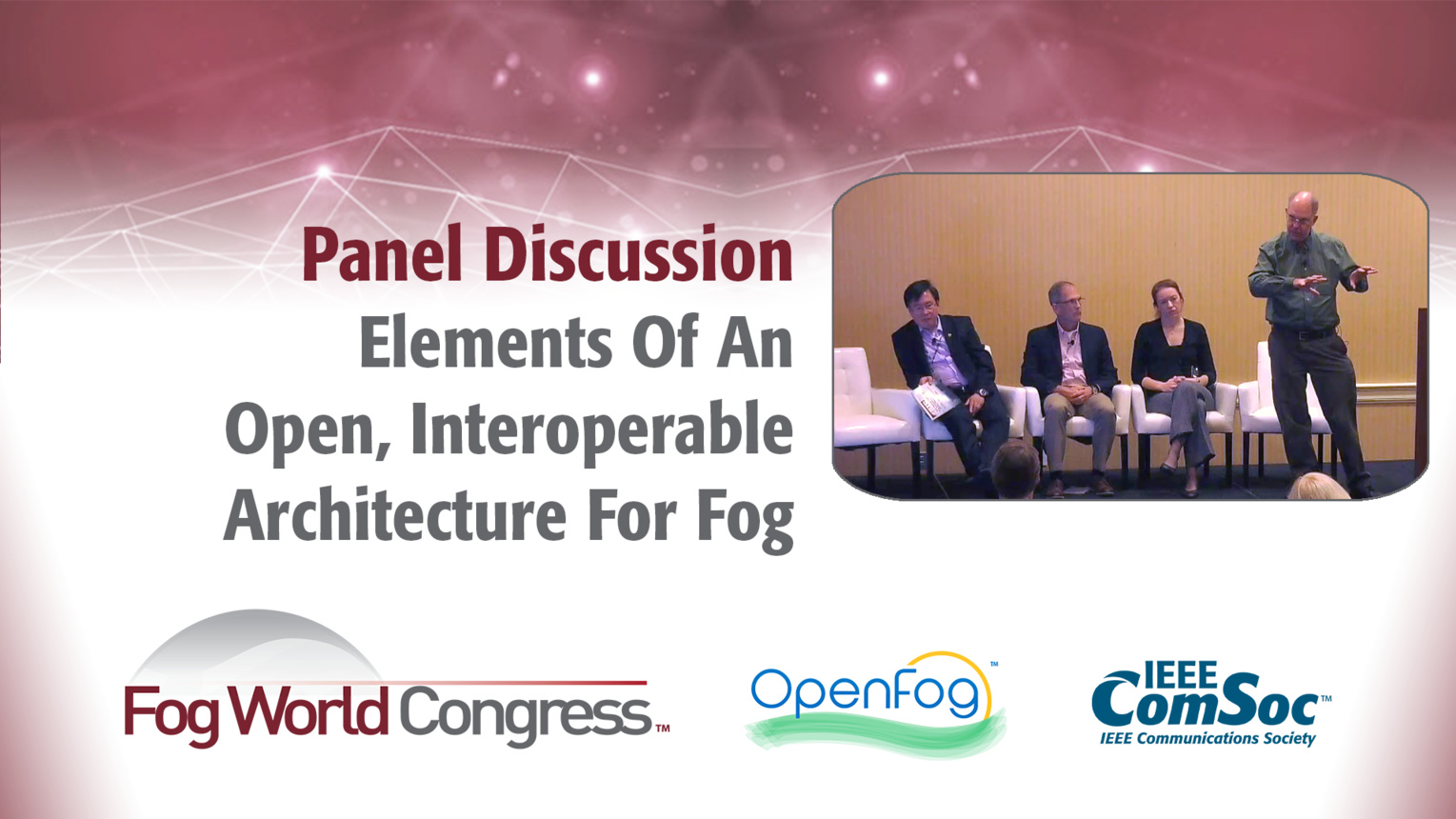 Elements Of An Open, Interoperable Architecture For Fog - Fog World Congress 2017