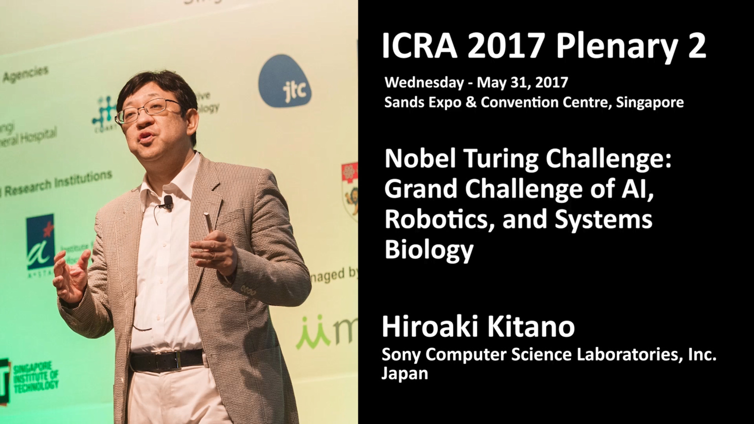 Nobel Turing Challenge: Grand Challenge of AI, Robotics, and Systems Biology​