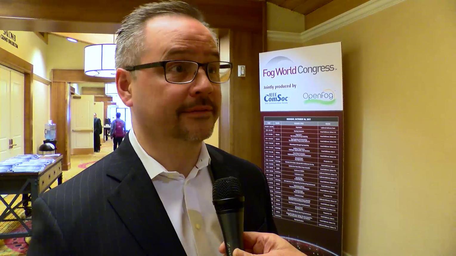 Christian Renaud on Fog Computing at Fog World Congress