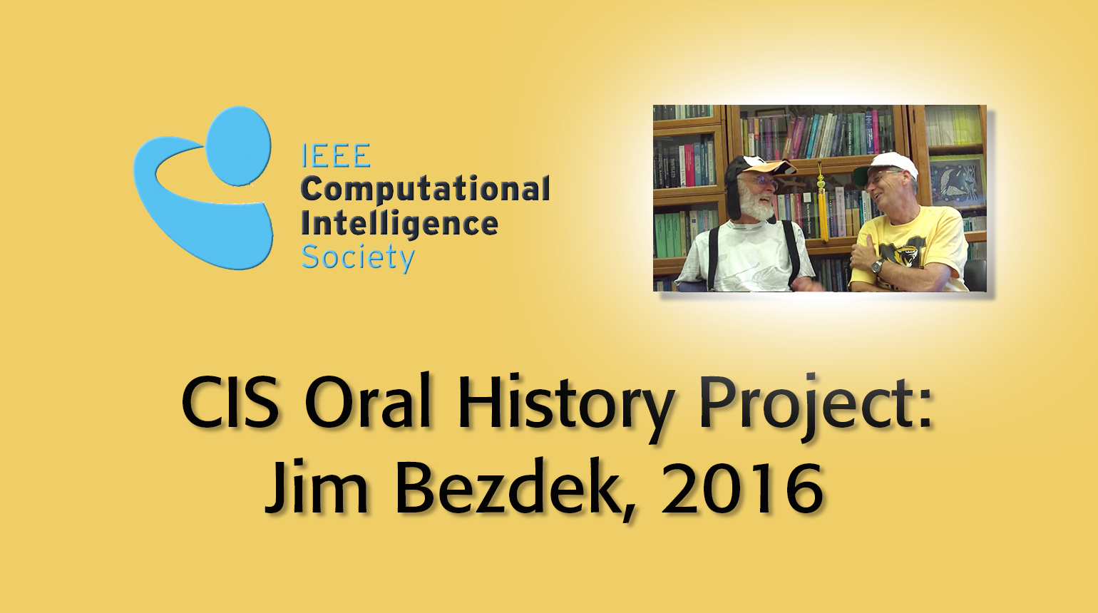 Interview with Jim Bezdek, 2016: CIS Oral History Project