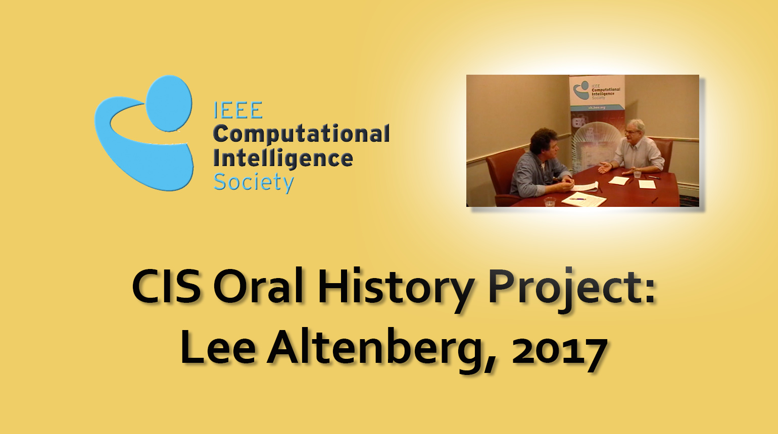 Interview with Lee Altenberg, 2017: CIS Oral History Project