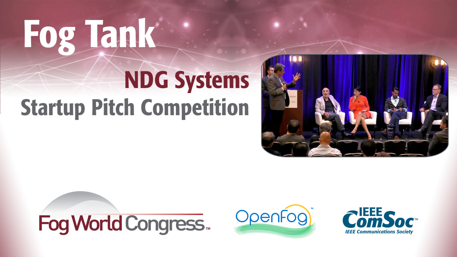 NGD Systems Pitch: Fog Tank - Fog World Congress