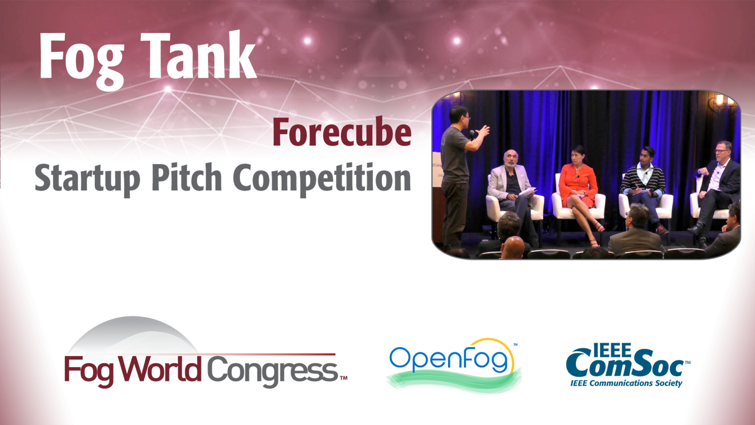Forecube Pitch: Fog Tank - Fog World Congress