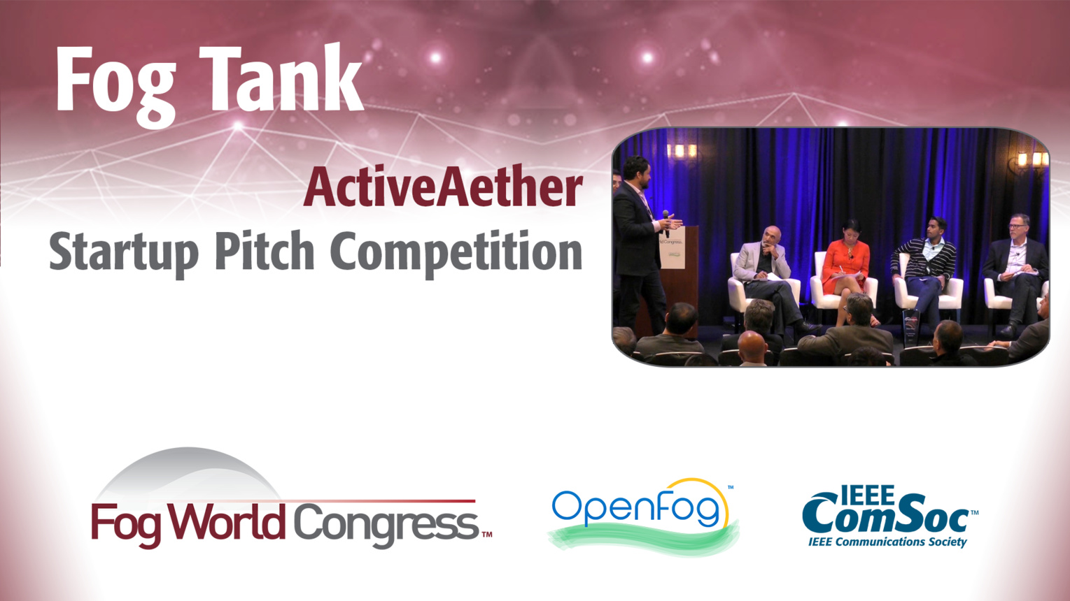 ActiveAether Pitch: Fog Tank - Fog World Congress