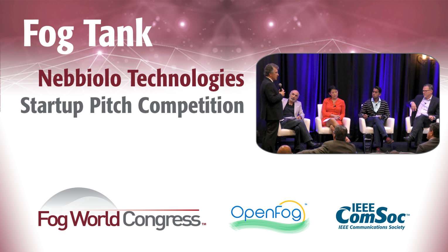 Nebbiolo Technologies Pitch: Fog Tank - Fog World Congress