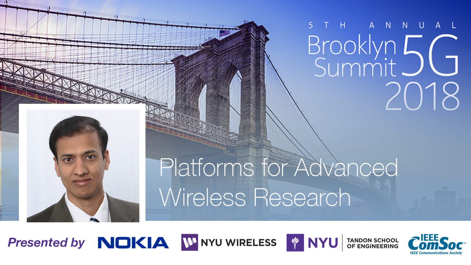 Platforms for Advanced Wireless Research - Nandagopal Thygaraj - Brooklyn 5G Summit 2018