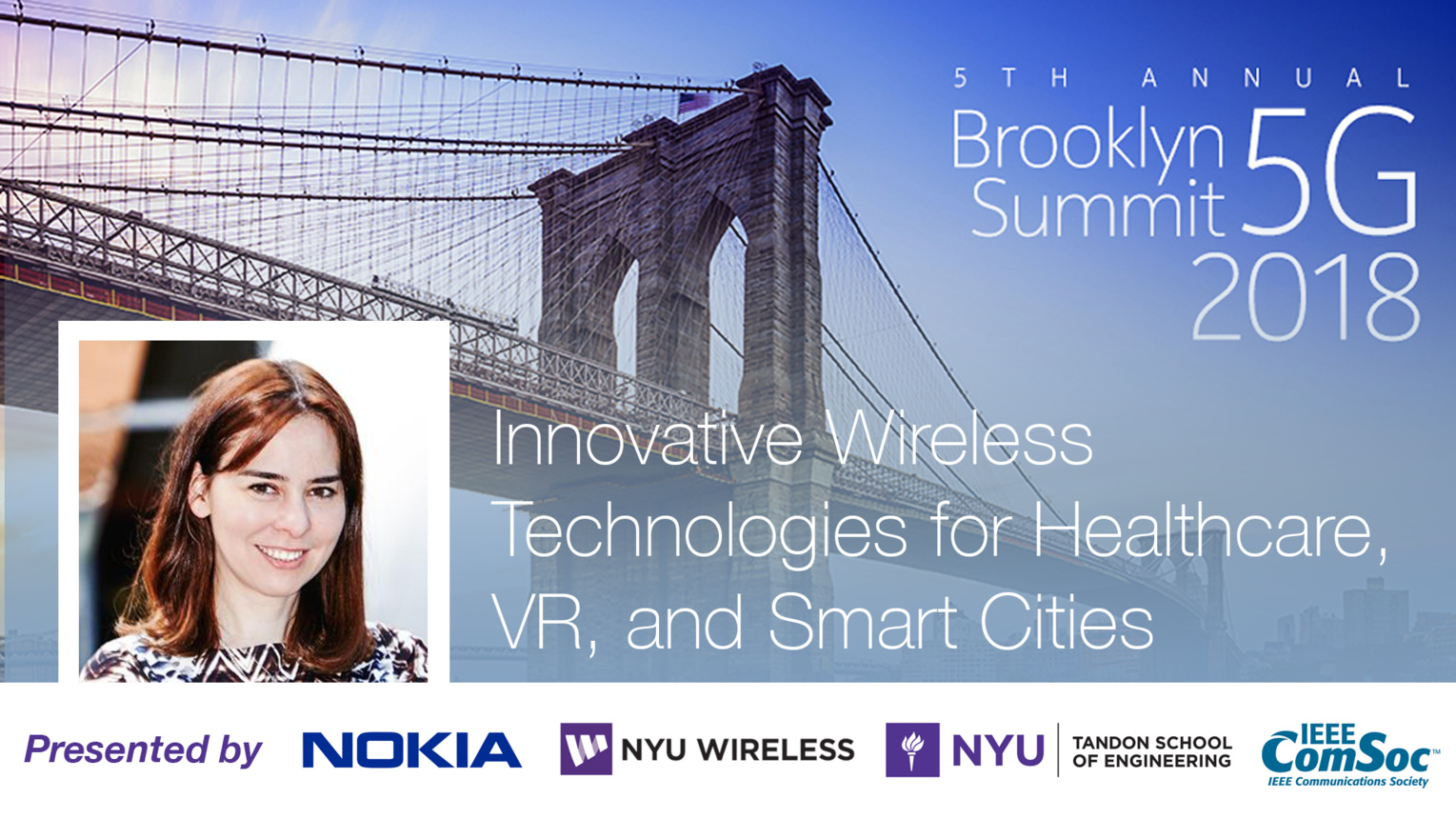 Innovative Wireless Technologies for Healthcare, VR, and Smart Cities - Dina Katabi - Brooklyn 5G Summit 2018