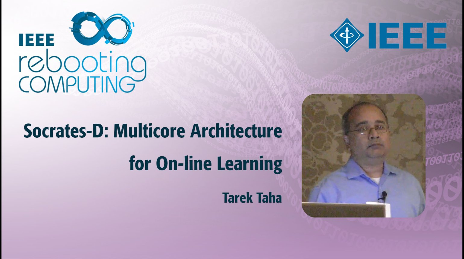 Socrates-D: Multicore Architecture for On-line Learning: IEEE Rebooting Computing 2017