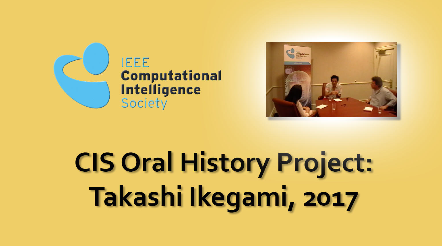 Interview with Takashi Ikegami, 2017: CIS Oral History Project