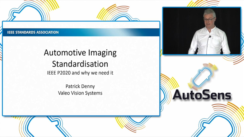 P2020  Establishing Image Quality Standards for Automotive
