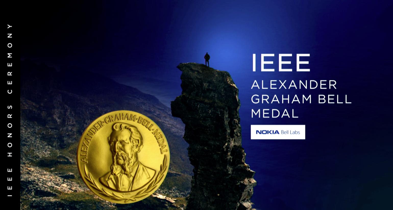 IEEE Alexander Graham Bell - Nambi Seshadri - 2018 IEEE Honors Ceremony