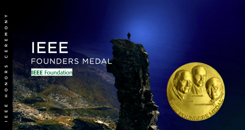 IEEE Founders Medal - Narayana Murthy - 2018 IEEE Honors Ceremony