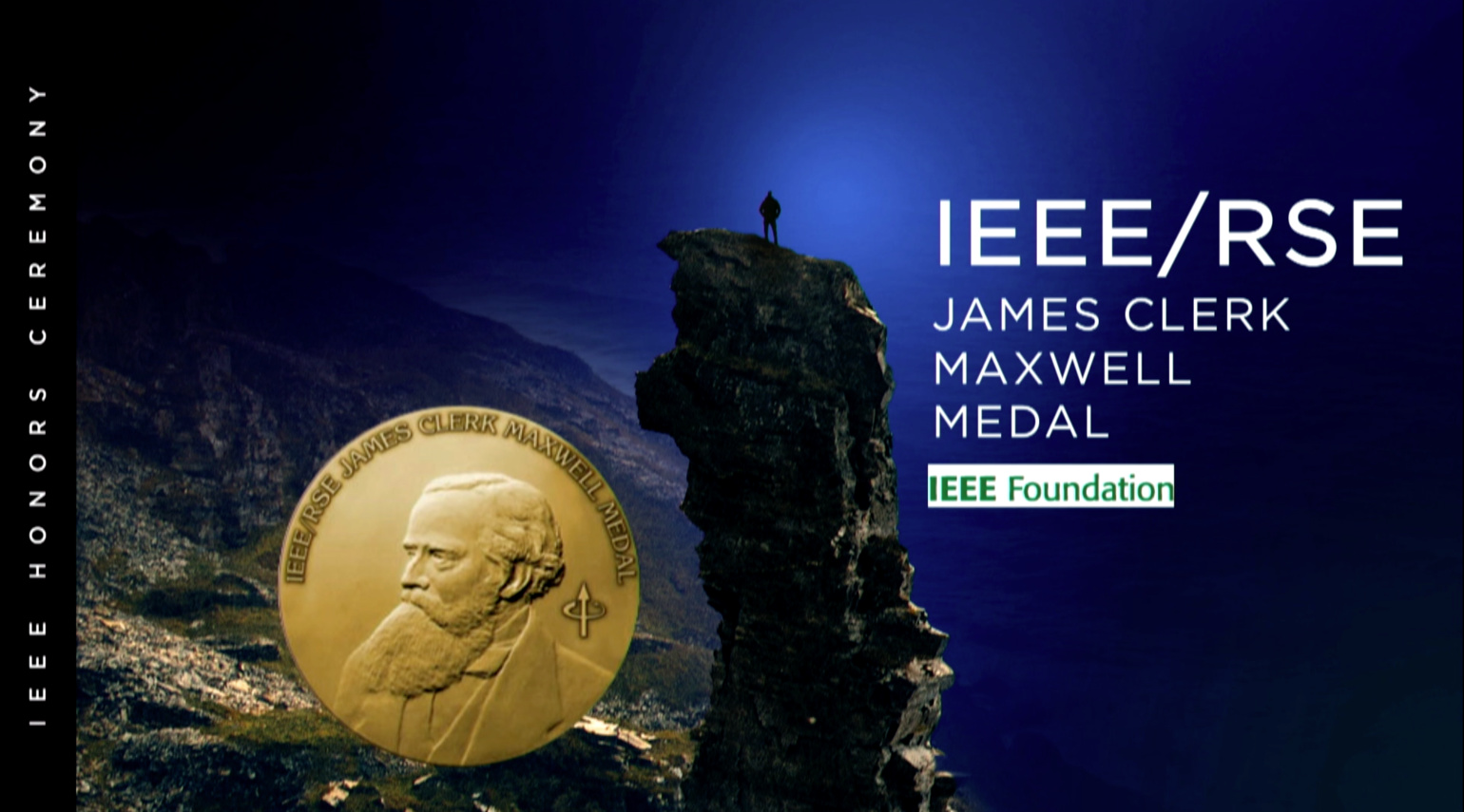IEEE/RSE James Clerk Maxwell Medal - Thomas Haug and Philippe Dupuis - 2018 IEEE Honors Ceremony