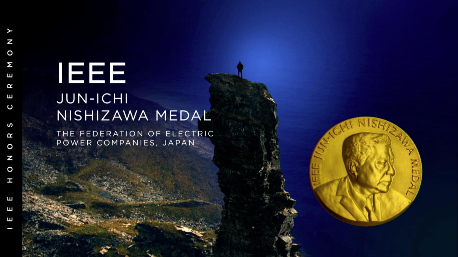 IEEE Jun-Ichi Nishizawa Medal - Joe C. Campbell - 2018 IEEE Honors Ceremony