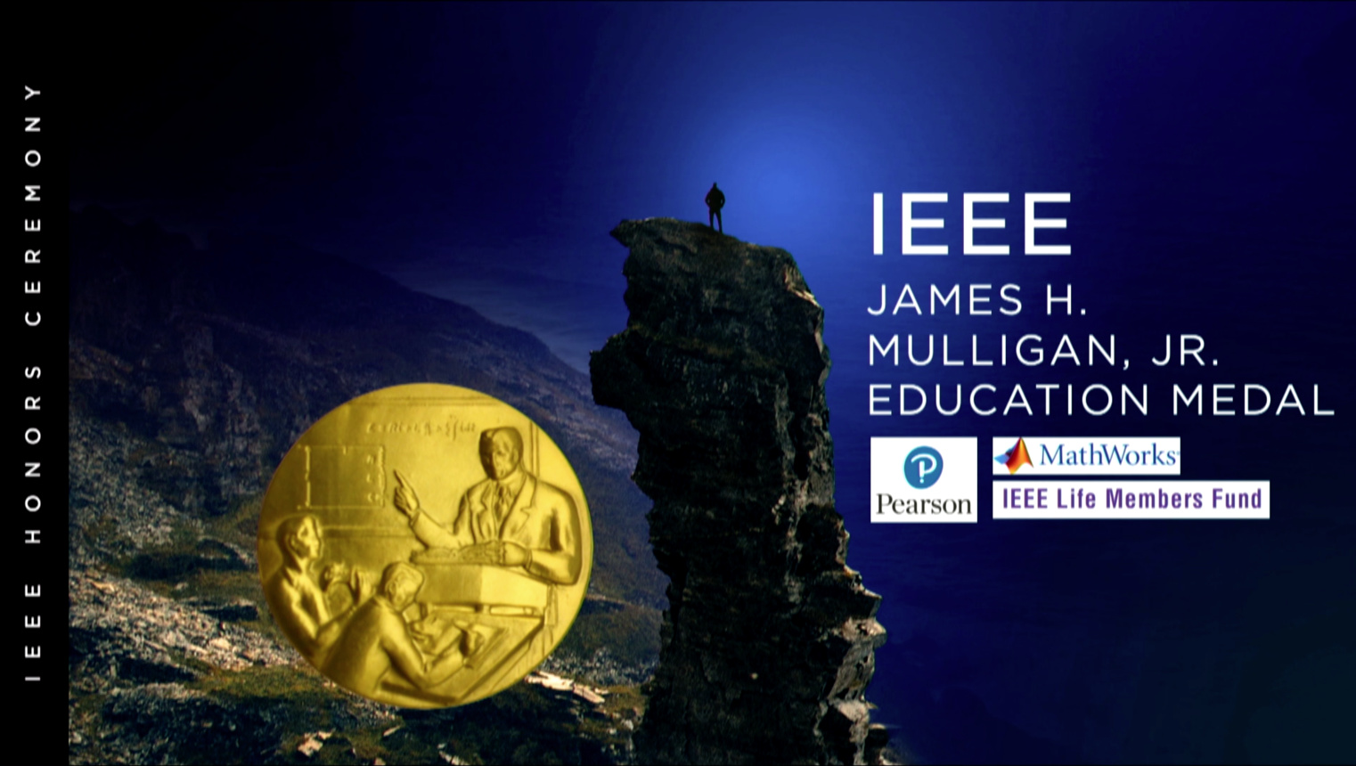 IEEE James H. Mulligan Jr Education Medal - Delores M. Etter - 2018 IEEE Honors Ceremony