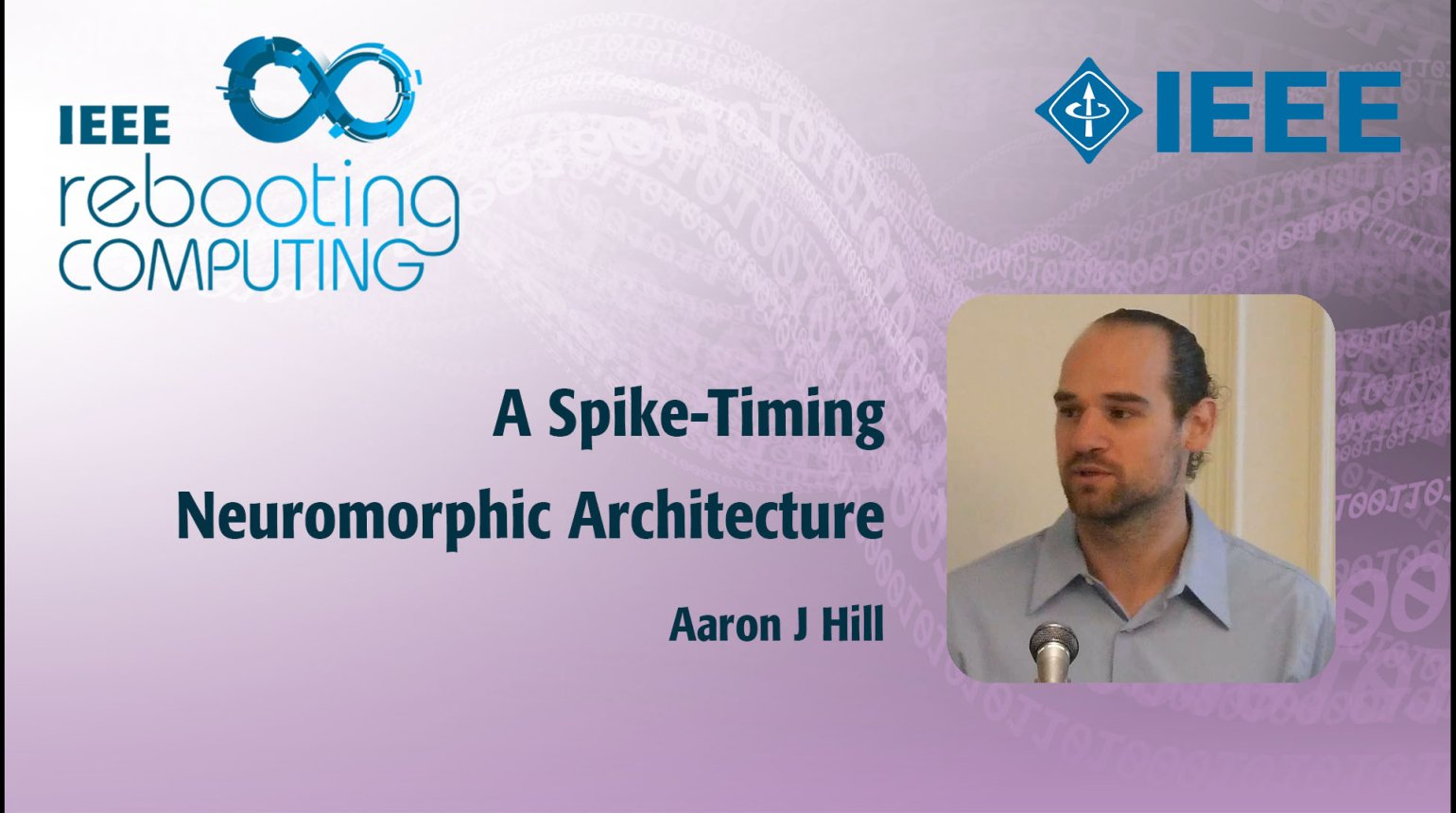 A Spike-Timing Neuromorphic Architecture: IEEE Rebooting Computing 2017