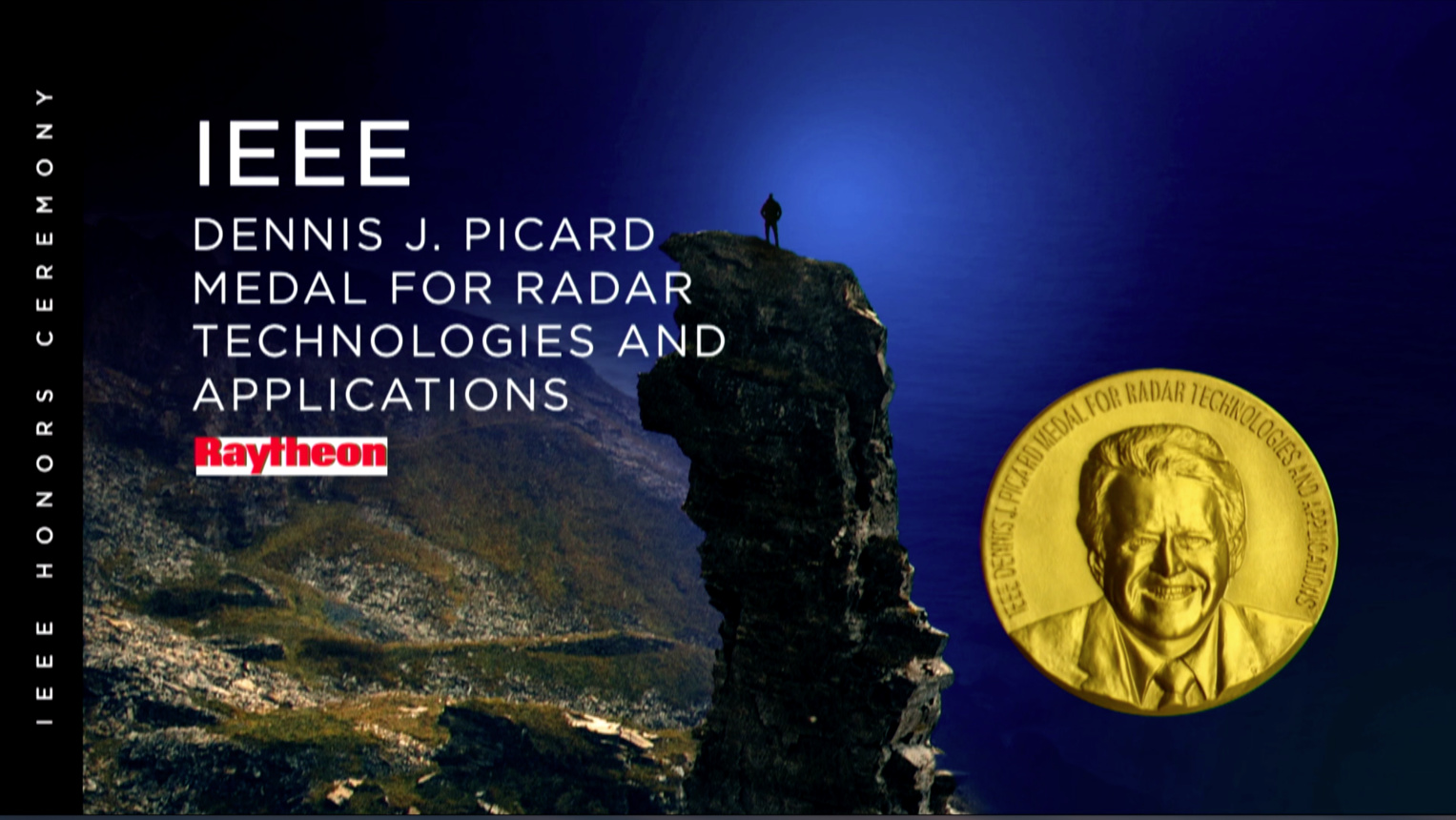 IEEE Dennis J. Picard Medal for Radar Technologies and Applications - Mark E. Davis - 2018 IEEE Honors Ceremony