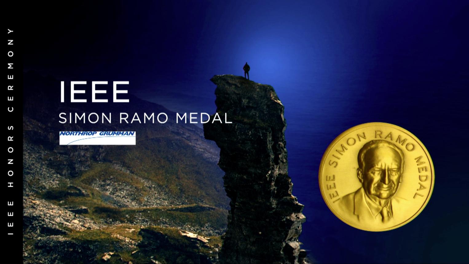 IEEE Simon Ramo Medal - Heinz Stoewer - 2018 IEEE Honors Ceremony