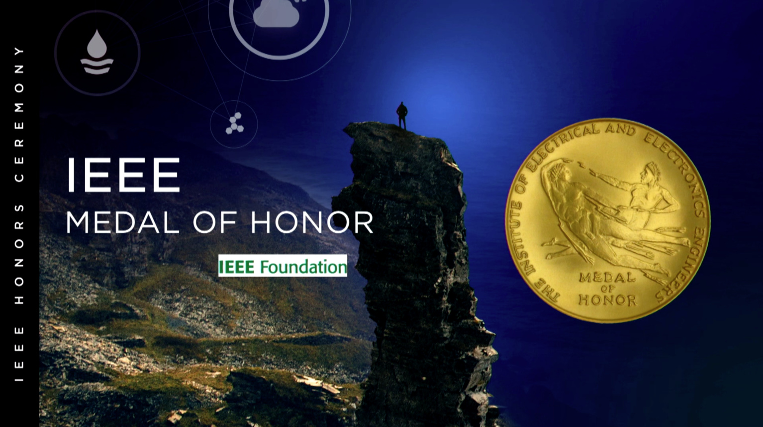 IEEE Medal of Honor - Bradford W. Parkinson - 2018 IEEE Honors Ceremony