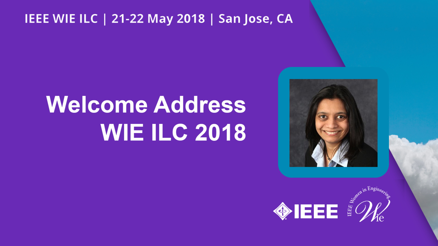 Welcome Address - Nita Patel - WIE ILC 2018