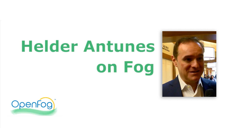 Helder Antunes on Fog Computing - Fog World Congress 2018