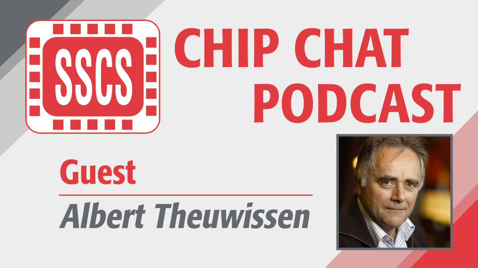 Episode 2 - Albert Theuwissen - Chip Chat Podcast