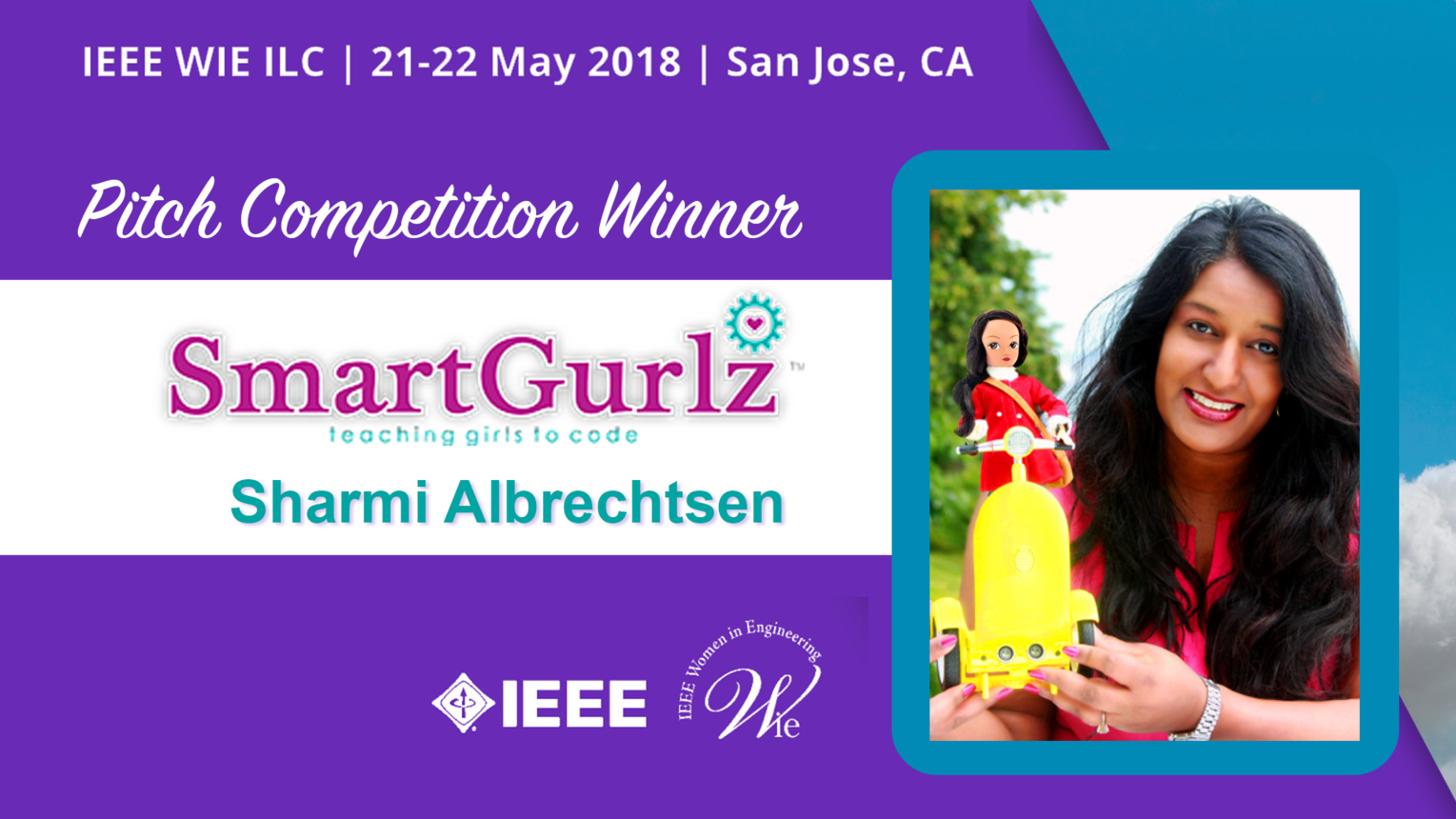 Pitch Competition Winners - 1st Place: Smart Gurlz - WIE ILC 2018