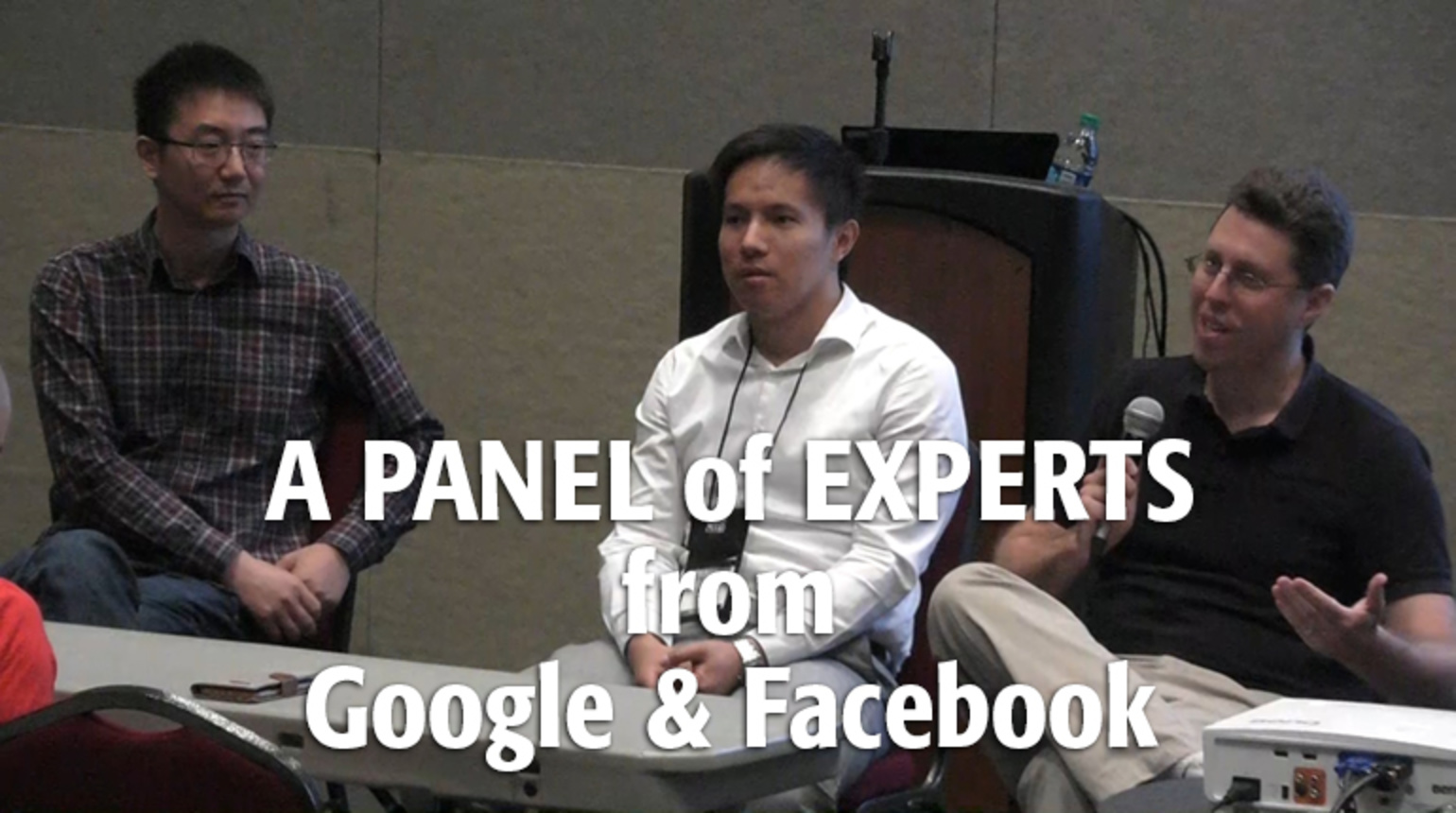 LPIRC: A Spontaneous Panel with Facebook and Google AI